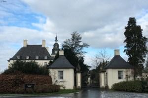 Tor zum park von Schloss Gartrop