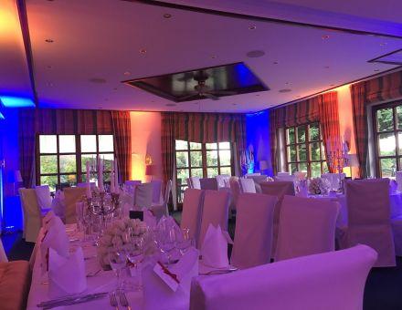 Golf Course Bonn Restaurant mit Ambiente-Licht