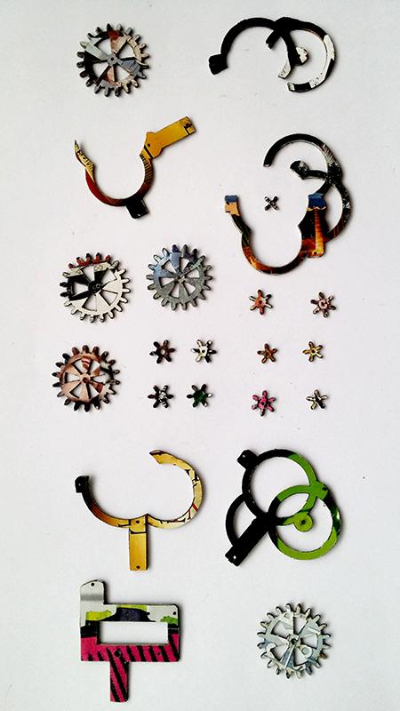 Piezas mecanismo