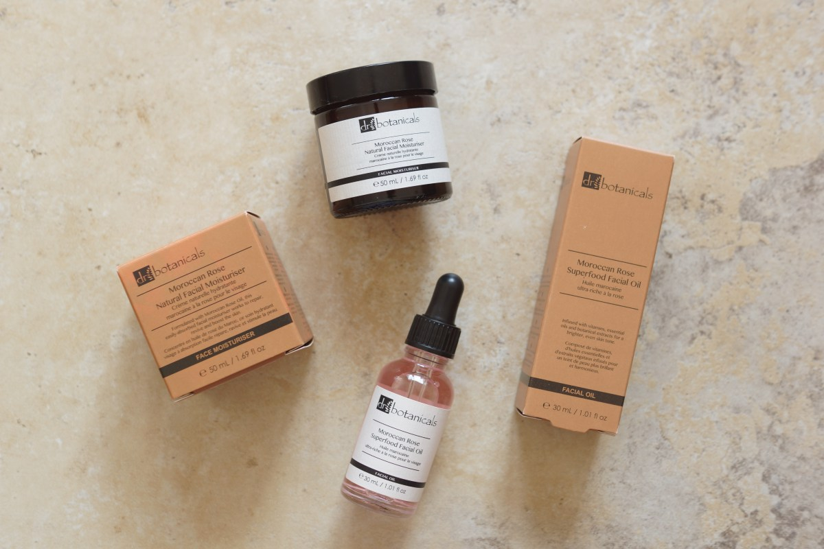 Dr Botanicals Review - Moroccan Rose Range