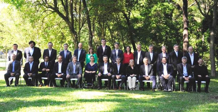 Mauricio Macri presentó a su gabinete en el Jardín Botánico de la ciudad de Buenos Aires el pasado 2 de diciembre.