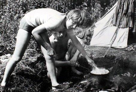 Ángela Merkel cocina en una escena muy de Haneke.