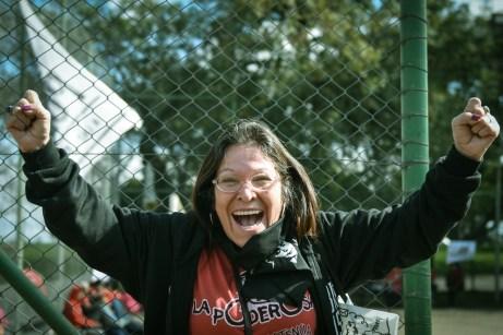 Mónica Alegre, mamá de Luciano Arruga, asesinado por la policía en Argentina.
