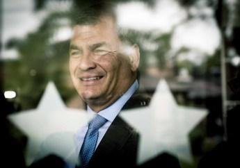 Rafael Correa visitó Santa Fe en marzo, respondió nuestras preguntas y se sacó una foto con un Pausa y todo. Foto: Mauricio Centurión.