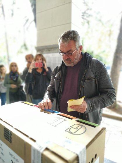 Alejandro Rossi, precandidato a intendente (Unidad Ciudada-PJ)