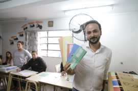 Juan Cesoni, precandidato a intendente (Encuentro-PJ)