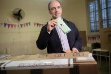 José Corral, candidato a gobernador de Cambiemos