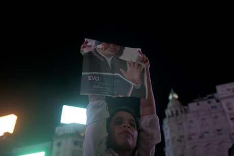 Apoyo a Evo en Buenos Aires (2)
