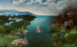 El paso de la laguna Estigia de Joachim Patinir.