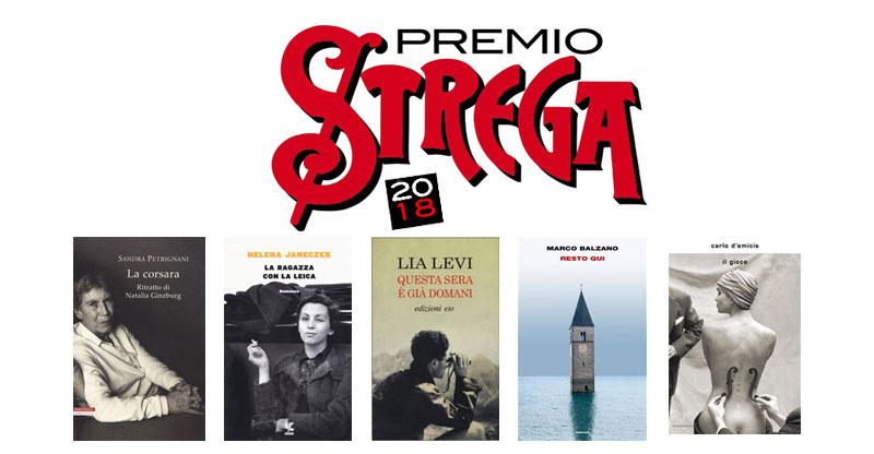 Premio Strega 2018 i 5 finalisti  Pausa Caff