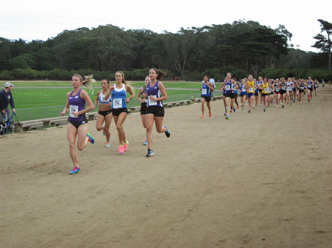 Polo Field Track in Golden Gate Park