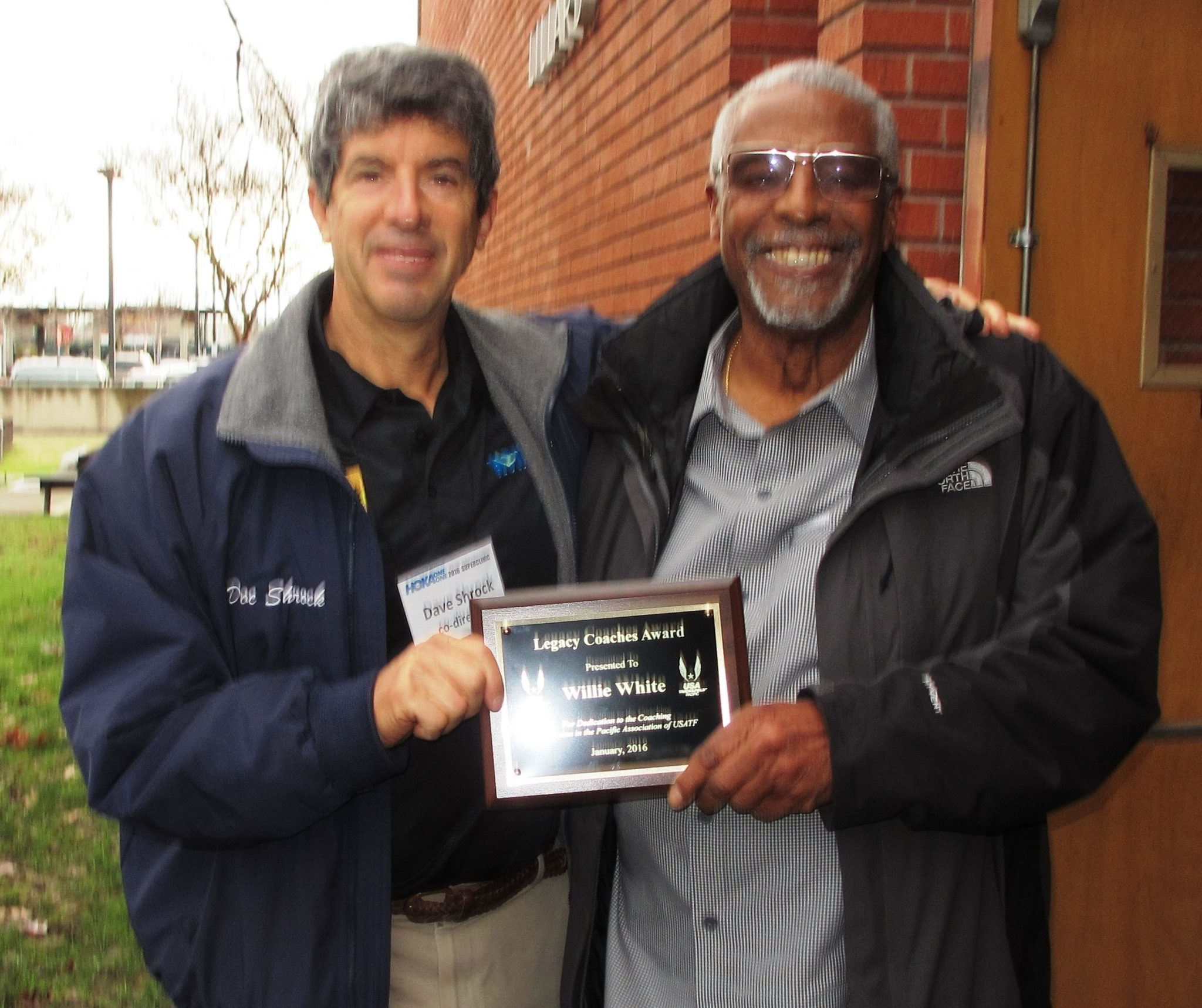 2015 Legacy Coach Award recipient Willie White