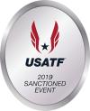 2019 USATF Sanctioned logo