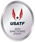 2020 USATF Sanctioned logo