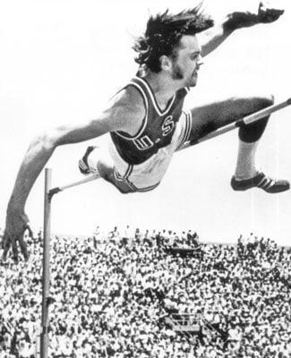 Pat Matzdorf 1971 WR High Jump