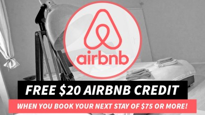 Free $20 AirBnB Credit
