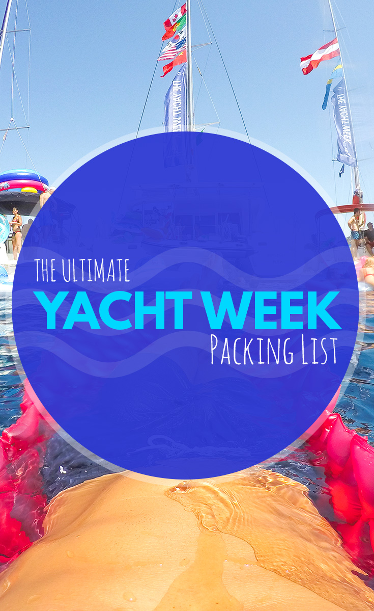 what to pack for yacht week