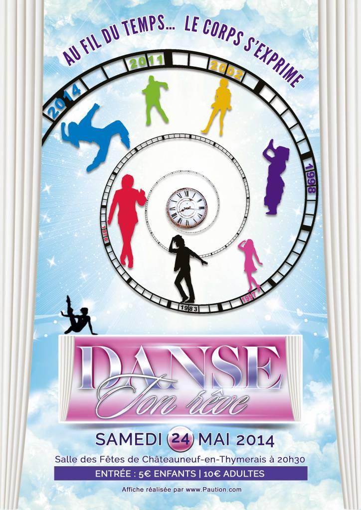 Affiche danse ton rêve 2014