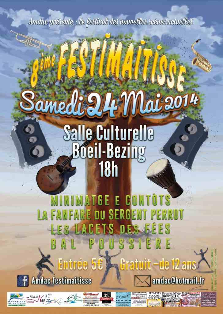 Affiche FestiMaitisse 2014