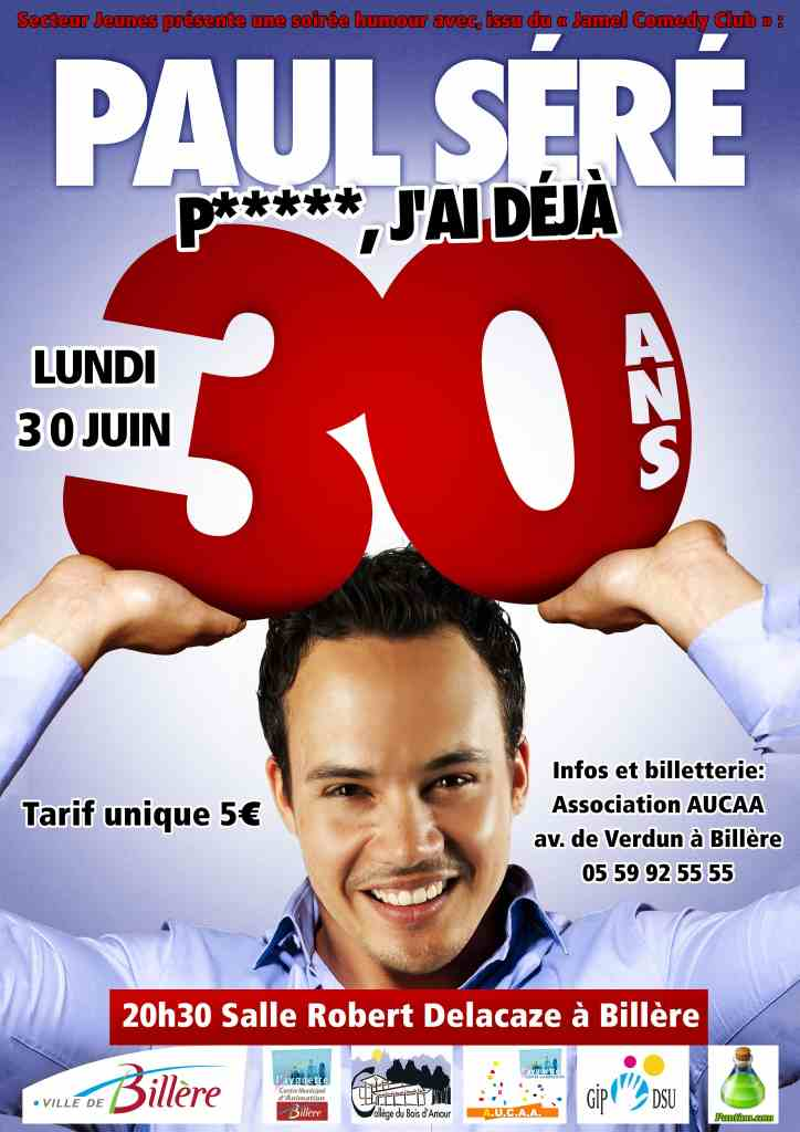 Paul Séré - Affiche web HD