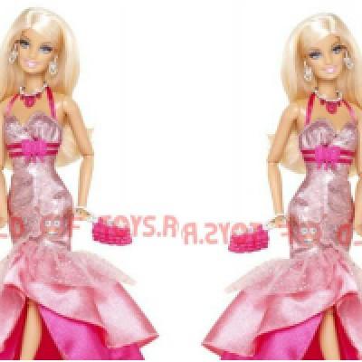 Papusa Barbie Fashionistas in the spotlight - PINK Mattel