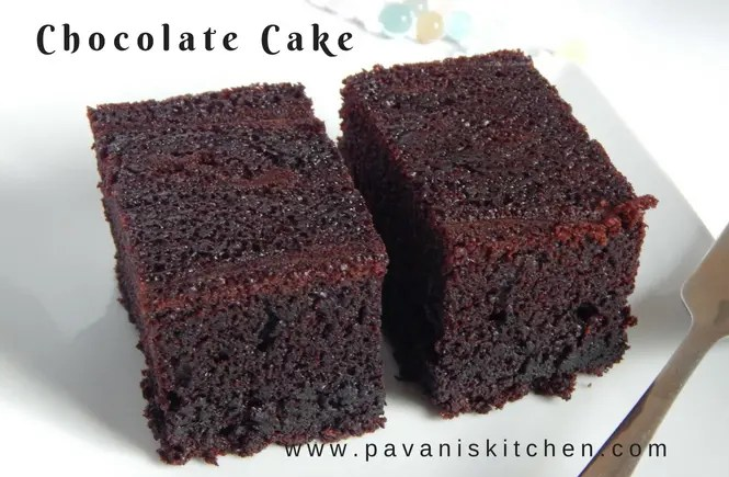 Chocolate Cake Recipe Pavanis Kitchen