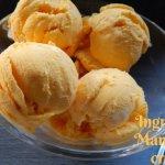 3 Ingredient Mango Ice Cream