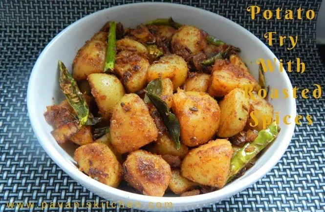 Potato Fry With Roasted Spices