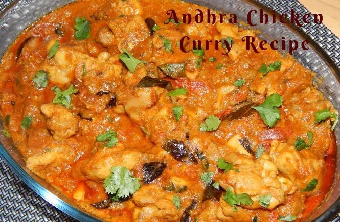 Andhra Chicken curry