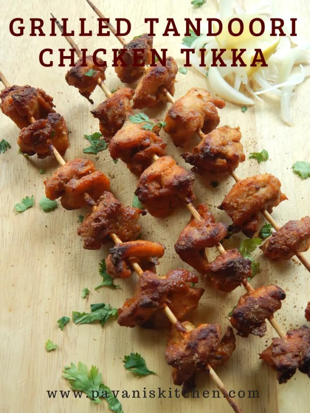 Grilled Tandoori Chicken Tikka