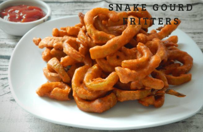 Snake Gourd Fritters