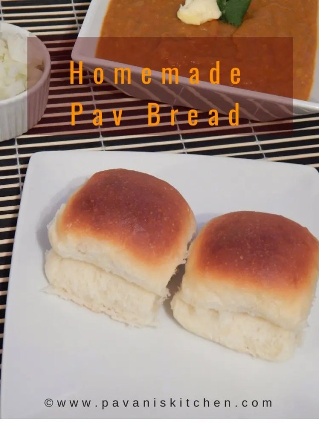 Homemade Pav Bread