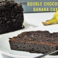 Double Chocolate Banana Cake Recipe