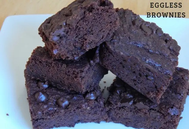 Eggless Brownie Recipe | How to make eggless brownie