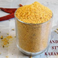 Andhra Style Karam Podi |Idli Karam Podi