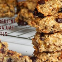 4 Ingredient Banana Oat Bites | Easy Banana Oat Bites