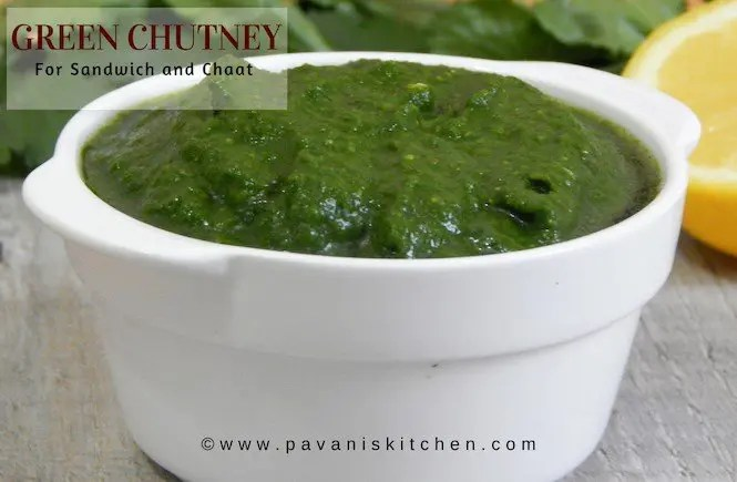 Green Chutney Recipe |Green Chutney for Sandwich and Chaat