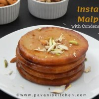 Instant Malpua Recipe with Condensed Milk