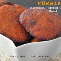 Pukhlein Recipe | Meghalaya Special Rice Jaggery Bread