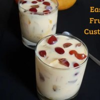 Easy Fruit Custard Recipe | How to make Fruit Custard