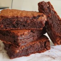 Nutella Brownies - Just 3 Ingredients