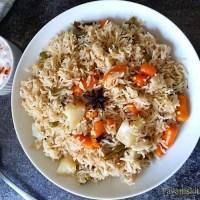 Easy Instant Pot Vegetable Pulao Recipe