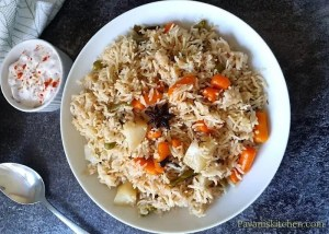 easy instant pot vegetable pulao