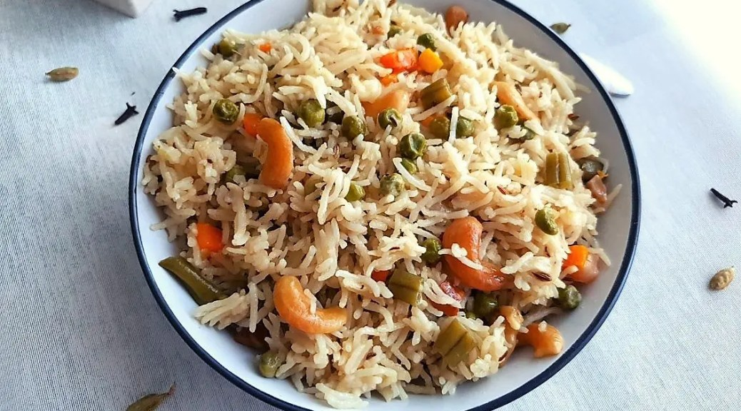 instant pot coconut milk pulao