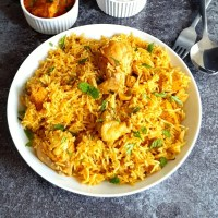 Instant Pot Chicken Biryani Recipe
