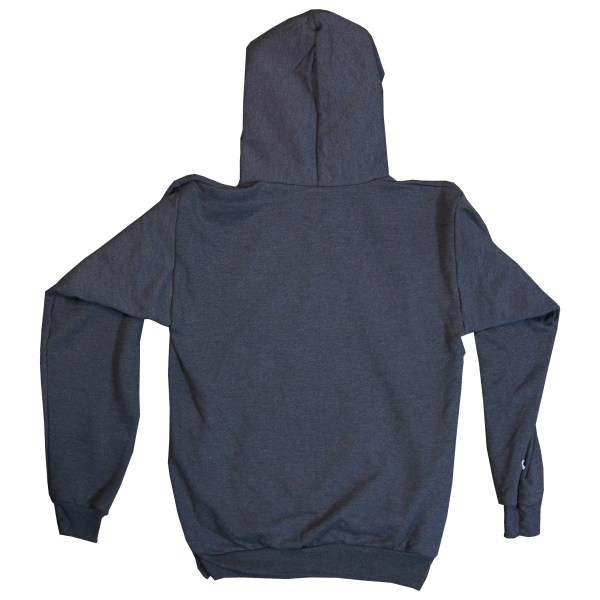 Clothing and Accessories by Pavati Marine - Modern Logo on Pullover Hoodie - Back