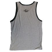 Clothing and Accessories by Pavati Marine - Full Sized Logo on Men's Tank Top - Back