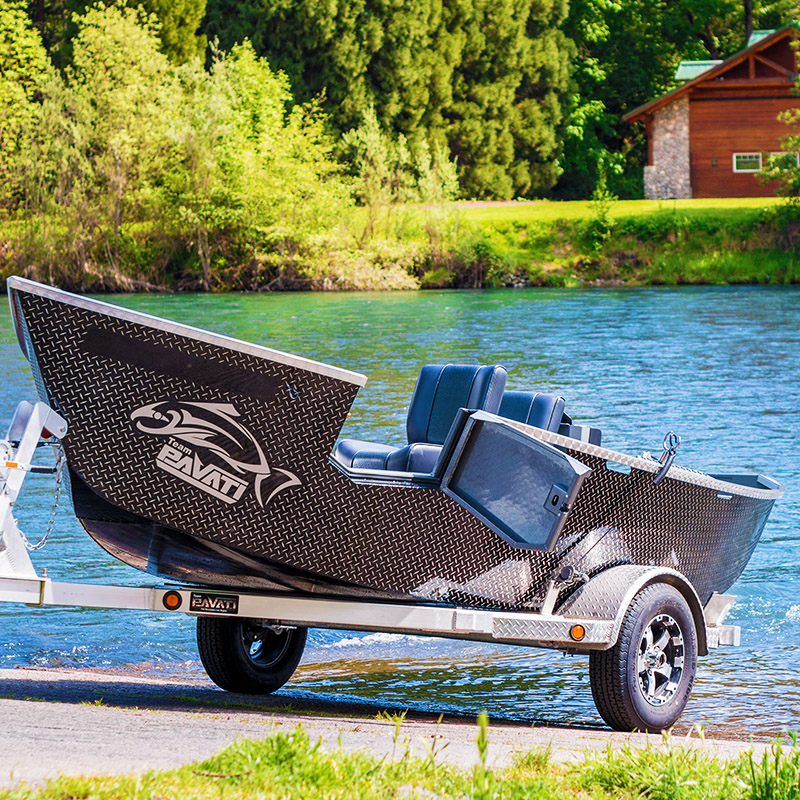 Front - River Wolf Aluminum Boats Inc.