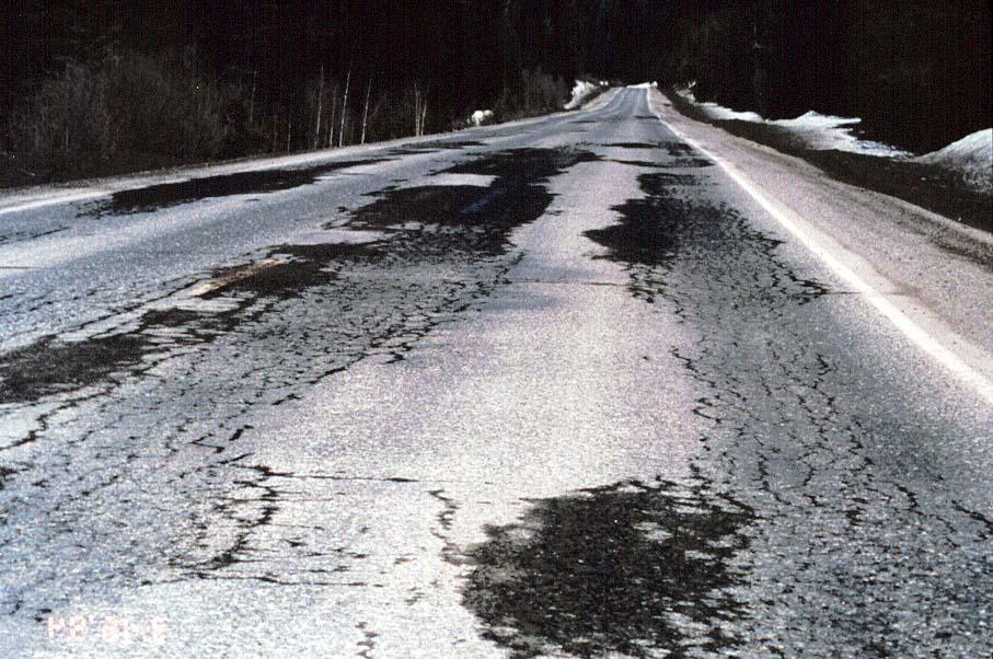 fatigue cracking pavement interactive