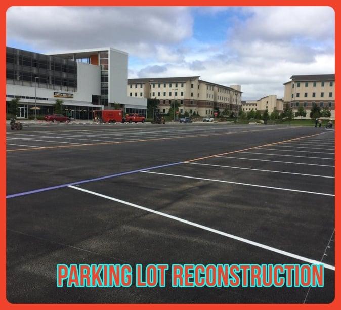Parking Lot Reconstruction Houston
